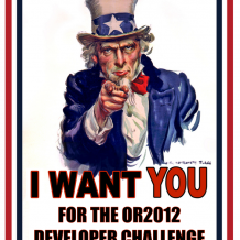 Come One, Come All to the OR 2012 Developer Challenge